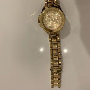 Karl Lagerfeld Gold Watch